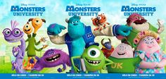 New Foreign Promotion for Pixar's Monsters University | Animation ...