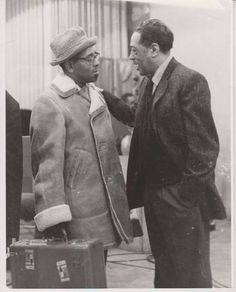 Duke Ellington and Dizzy Gillespie Jazz Artists, Jazz Musicians, Music Artists, Dizzy Gillespie, Duke Ellington, Music Icon, Music Music, Music Stuff, Smooth Jazz