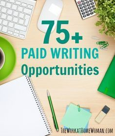 Check out this HUGE list of legitimate sites that pay you to work from home as a writer. There are gigs for writing blog posts, recipes, short stories, greeting cards, and much more! via The Work at Home Woman