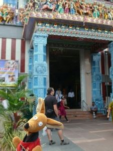 Sri Veeramakaliamman Temple, czyli Ryjek spotyka Kali