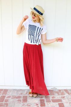All American Girl: 16 Fourth of July Fashion Inspired Looks! | Babble