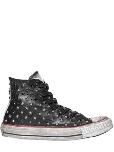 7f3e21686900 CHUCK TAYLOR LEATHER   CANVAS SNEAKERS Converse All Star