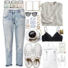 Untitled #1423 by wtf-towear on Polyvore featuring мода, French Connection, Madewell, Henri Bendel, Asya Malbershtein, Forever 21, Monki, Forever New, Topshop and Louis Vuitton