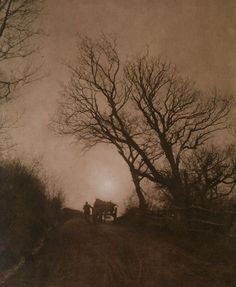 liquidnight: Frank Meadow Sutcliffe November, circa 1890 Carbon Print From Impressionist Camera: Pictorial Photography in Europe, 1888-1918