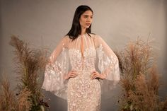Hermione de Paula has partnered with luxury bridal boutique, Feathers, in Birmingham city centre Bridal Cape, Bridal Wedding Dresses, Wedding Suits, Bridesmaid Dresses, Hermione, Free Wedding Venues, Wedding Types, Bridal Collection, Signature Collection