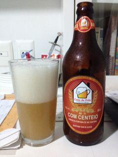 Cerveja Casa do Fritz com Centeio, estilo American Wheat/Rye, produzida por Casa do Fritz, Brasil. 5.5% ABV de álcool.