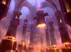 Google Image Result for http://www.johnavon.com/fantasy-art/109/buildings.mountains.return-to-ravnica-mountain.jpg