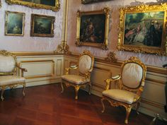 The Rococo palace of king Friedrich II in Potsdam, Germany
