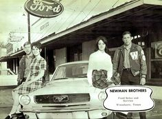 Delivered parts to this dealership about the time this picture was taken. Newman Brothers Ford, Winnsboro, TX