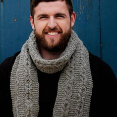 Connor Celtic Scarf Pattern A unisex scarf knit kit ideal for advanced beginners, you'll stay warm and cozy due to the weight and quality of the Irish yarn. A perfect reminder of Ireland, wherever you are in the world. Knitting Kits, Knitting Projects, Knitting Patterns, Stay Warm, Warm And Cozy, Scarf Knit, Knit Scarves, Knitted Bags, Celtic