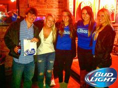 #BudLight Promo at Bar South!! #AthensGA #Beer #BeerLovesAthens