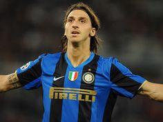 LEYENDAS DEL FÚTBOL. Zlatan Ibrahimovic, #Inter.