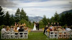 Portland Wedding Reception Venues | Destination Wedding Collection - Skamania Lodge Photos  #DestinationHotelsWeddings