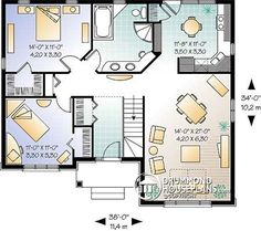 impressive two bedroom house plans 2 bedroom house plans