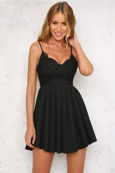 HelloMolly   Out Of Your League Dress Black