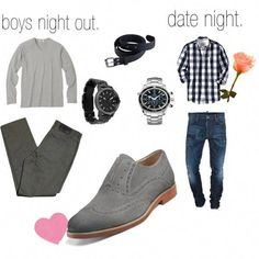 308d1f124319 Boys night out vs date night men-s-style-fashion