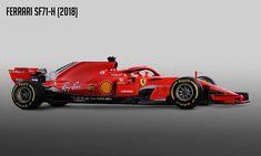 Ferrari SF71H The 2018 Ferrari F1 Car #Ferrari #SF71H #2018F1