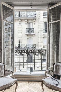 Details in a Paris apartment....