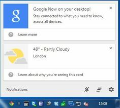 How To Enable Google Now On The Desktop For Windows and Mac