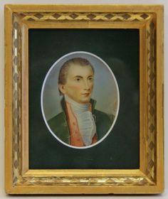 French Miniature Portrait of President James Monroe $2,750