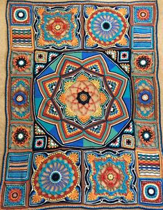 Project Gallery for CAL - Crochet Club 2013 pattern by Jane Crowfoot