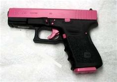 PINK Glock! hello happy 21st birthday to me!!! with my carry permit of course!