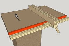 Homemade Table Saw Fence System Easy Simple New Style 25 Steps with Pictures Table Saw Workbench, Table Saw Jigs, Diy Table Saw, Wood Projects That Sell, Woodworking Projects That Sell, Woodworking Crafts, Table Saw Fence, Table Saw Stand, Table Saw Station