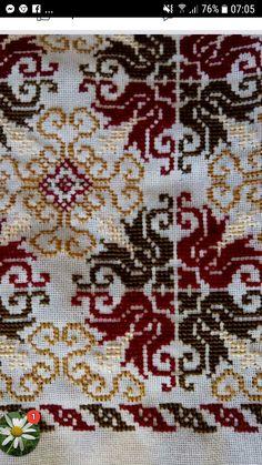 Counted Cross Stitch Patterns, Cross Stitch Charts, Cross Stitch Designs, Cross Stitch Embroidery, Crochet Diagram, Hand Embroidery Patterns, Cross Stitching, Needlework, Handmade