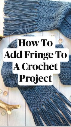 Crochet Projects For Beginners, Crochet Stitches For Beginners, Crochet Basics, Crochet Blanket Patterns, Free Crochet Scarf Patterns, Crochet Scarves, Crochet Shawl, Diy Crochet, Crochet Hooks