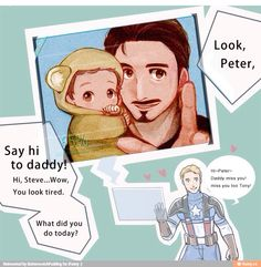 Superfamily. Baby Peter is too cute.