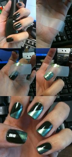 Manicure Tutorials: How to do a Funky French manicure