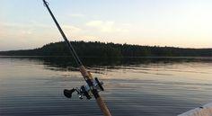 Fishing at Lake Keurusselkä.