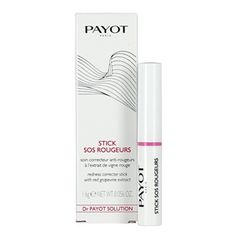 Redness, stinging, irritation? Does your skin feel hot, tight & itchy? If so, then your skin is sensitive! PAYOT Stick SOS Rougeurs Redness Corrector provides targeted care for redness & blotchy skin. Infused with Red Grapevine Extract, Stick SOS Rougeurs improves blood circulation whilst an infusion of green Pigments disguises the appearance of redness. Ideal for targeted corrective care, this innovative treatment stick leaves the skin looking flawless whilst feeling rebalanced & protected.