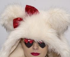 PINK MAGNOLIA FEATURES MERCURA NYC AT MERCEDES-BENZ FASHION WEEK MEXICO r/w bow sunglasses f/w 2013