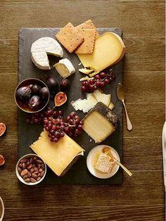 Around the world cheese plate