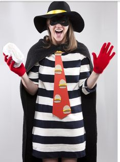 hamburgler homemade costumes for adults hamburglar