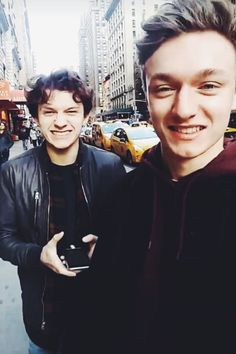 Tom Holland and his best friend, Harrison Osterfield