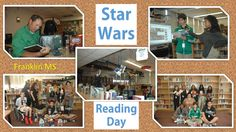 Franklin MS hosted a Star Wars Reading Day