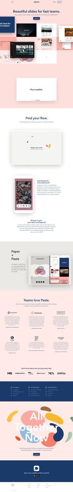 Paste by FiftyThree | Beautiful Slides for Fast Teams