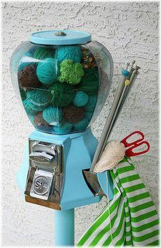 Yarn Ball Machine- too cute