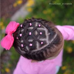 "253 curtidas, 68 comentários - Mariel Toddler Hairstyles (@curious_strands) no Instagram: ""Happy Mother's Day!!! Today I'm practicing my lace Dutch braids still need work, but I'm…"""