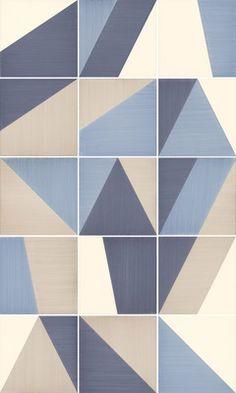 Ceramica Bardelli Tangram Tangram 3 , Bathroom, Kitchen, Living room, Porcelain stoneware, wall & floor, Matte, Non-rectified