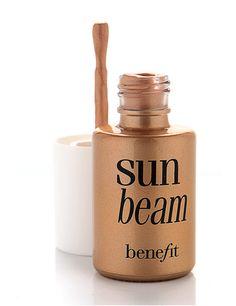 Benefit Sun Beam Highlighter. FAVORITE SUMMER HIGHLIGHTER.