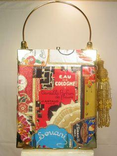 420d4c8626 Eau De Chic perfume cigar box purse Cigar Box Art