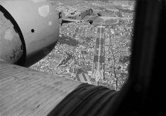 C. M. L. - vistas aéreas  Vista aérea da Avenida da Liberdade.  Fotografia sem data. Produzida durante a actividade do Estúdio Mário Novais: 1933-1983.