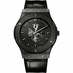 9a888da0d11d Hublot Shawn Carter by Hublot Black Ceramic 45mm Classic Fusion Watch at  Barneys.com Amazing