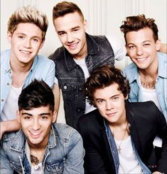 One Direction on Glamour