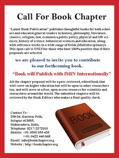 visit our website: http://bookchapter.org