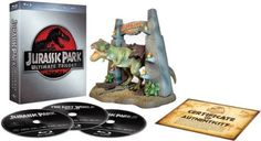 Jurassic Park Ultimate Trilogy - Limited Ultimate Collector's Edition (Blu-ray + Digital Copies + T-Rex Model) [Region Free] Blu-ray ~ Richard Attenborough, http://www.amazon.co.uk/dp/B0058DDUV0/ref=cm_sw_r_pi_dp_PNS0rb0ZFXXDN