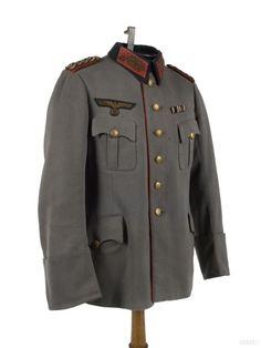 독일 하르트만 장군의 작업복